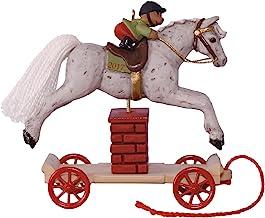 Hallmark Keepsake 2017 A Pony for Christmas Jumping Horse Christmas Ornament