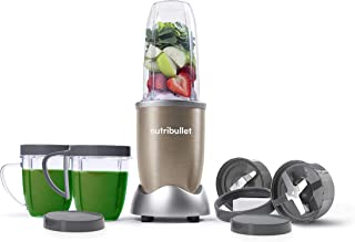 Nutribullet Pro 900 Watts, 12 Piece Set, Multi-Function High Speed Blender, Mixer System with Nutrient Extractor, Smoothie...