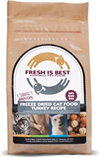 Fresh Is Best Freeze Dried Complete Cat Food, 8 Ounces