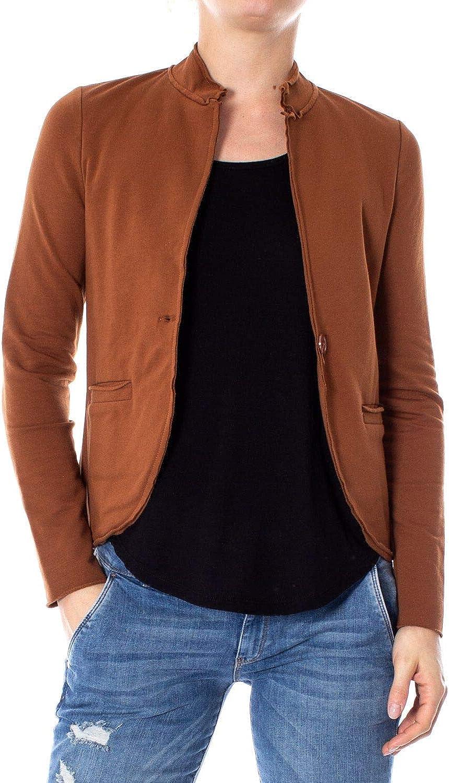 Akè Women's F453YAIJ902BROWN Brown Cotton Jacket