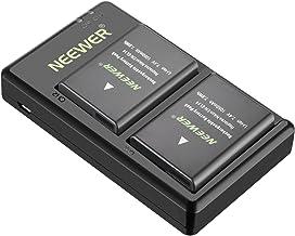 Neewer EN-EL14 EN-EL14A Cargador de Batería (2 Recargables Li-ion) Compatible con Nikon D5600 D3300 D3500 D5100 D5500 D3100 D3200 D5200 D5300 Coolpix P7000 P7100 P7200 P7700 P7800