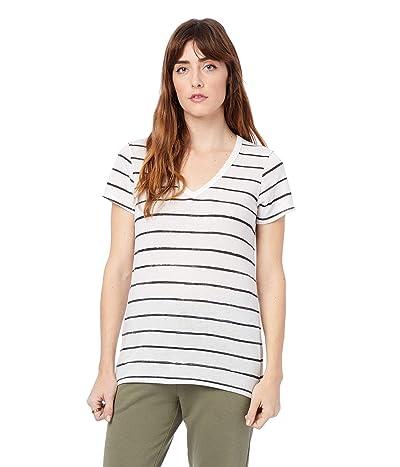 Alternative Ideal Printed Eco Jersey V-Neck T-Shirt