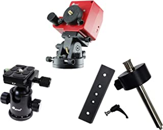 iOptron SkyTracker Pro Camera Mount with Polar Scope - Bundle with SkyTracker Ball Head v2, Counterweight Package