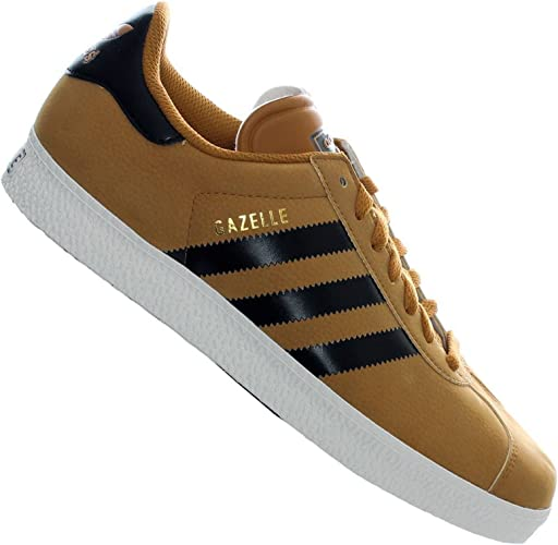Adidas Originals Gazelle 2 Baskets Vintage Chaussures MARRON CLAIR ...