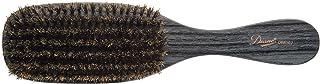 Diane D8114 5-Inch Men's Boar Bristle Palm Brush - Black Men's Boar Brushes Wave