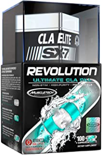 CLA Supplements | MuscleTech CLA Elite SX-7 Revolution | Conjugated Linoleic Acid | Anti-Catabolic Support | Stimulant-Fre...
