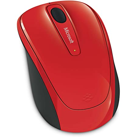 Microsoft – Wireless Mobile Mouse 3500 Rojo