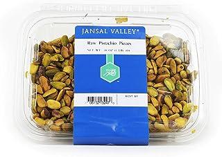 Jansal Valley Raw Pistachio Pieces, 1 Pound