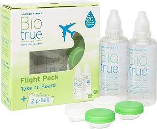 BAUSCH + LOMB - Biotrue® Solución Única - Kit viaje Pack 2 botellas x 60 ml
