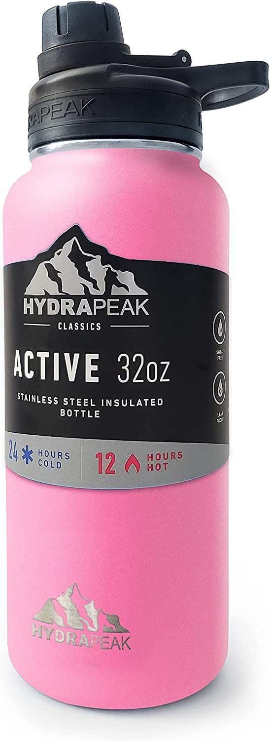 Hydrapeak Insulated Stainless Steel High material Water Max 43% OFF Wide Bottle Liter 1