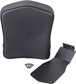 XMMT Motorcycle Black Driver Sissy Bar Backrest Pad compatible for Suzuki Volusia 800 1500 1998-2004,Suzuki Boulevard C50 / C90 2005-2019