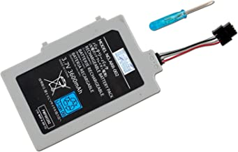 CBK 3600mAh 3.7V WUP-010 Rechargeable Extended Battery Pack for Nintendo Wii U Gamepad with Screwdriver