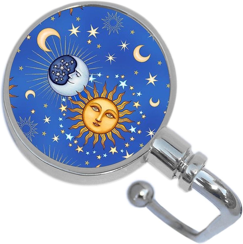 Celestial Moon and Stars Purse Hanger