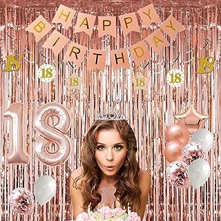 hot pink birthday decorations
