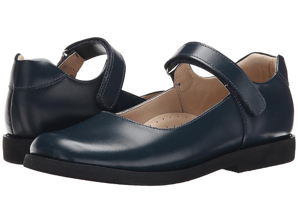 Elephantito Scholar Mary Jane (Toddler/Little Kid/Big Kid) (Blue) Girls Shoes