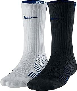 Nike Men's Dri-Fit Performance Football Crew Socks, 2 Pack