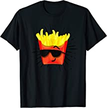 French Fries Hipster Style Funny Fast Food Gift T-Shirt