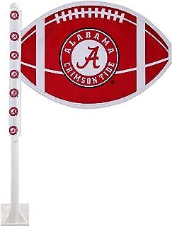University of Alabama Car Flag - Officially Licensed NCAA University of Alabama Car Flag with Football School Logo, UA Crimson Tide Car Accessory