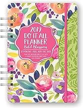 Orange Circle Studio 2019 Do It All Planner, August 2018 - December 2019, Bold Blossoms