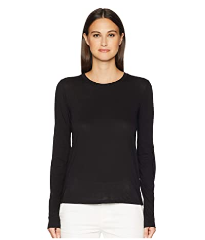 Vince Essential Long Sleeve Jersey Crew