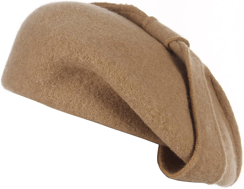 GEMVIE Womens Wool Beret Kansas City Mall Hat Artist French Elegant Style Beanie Ranking TOP19