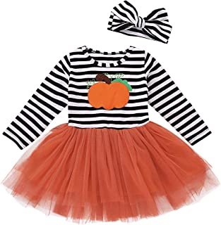 Best girls pumpkin dresses Reviews