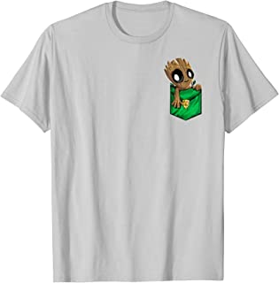 groot t shirt pocket