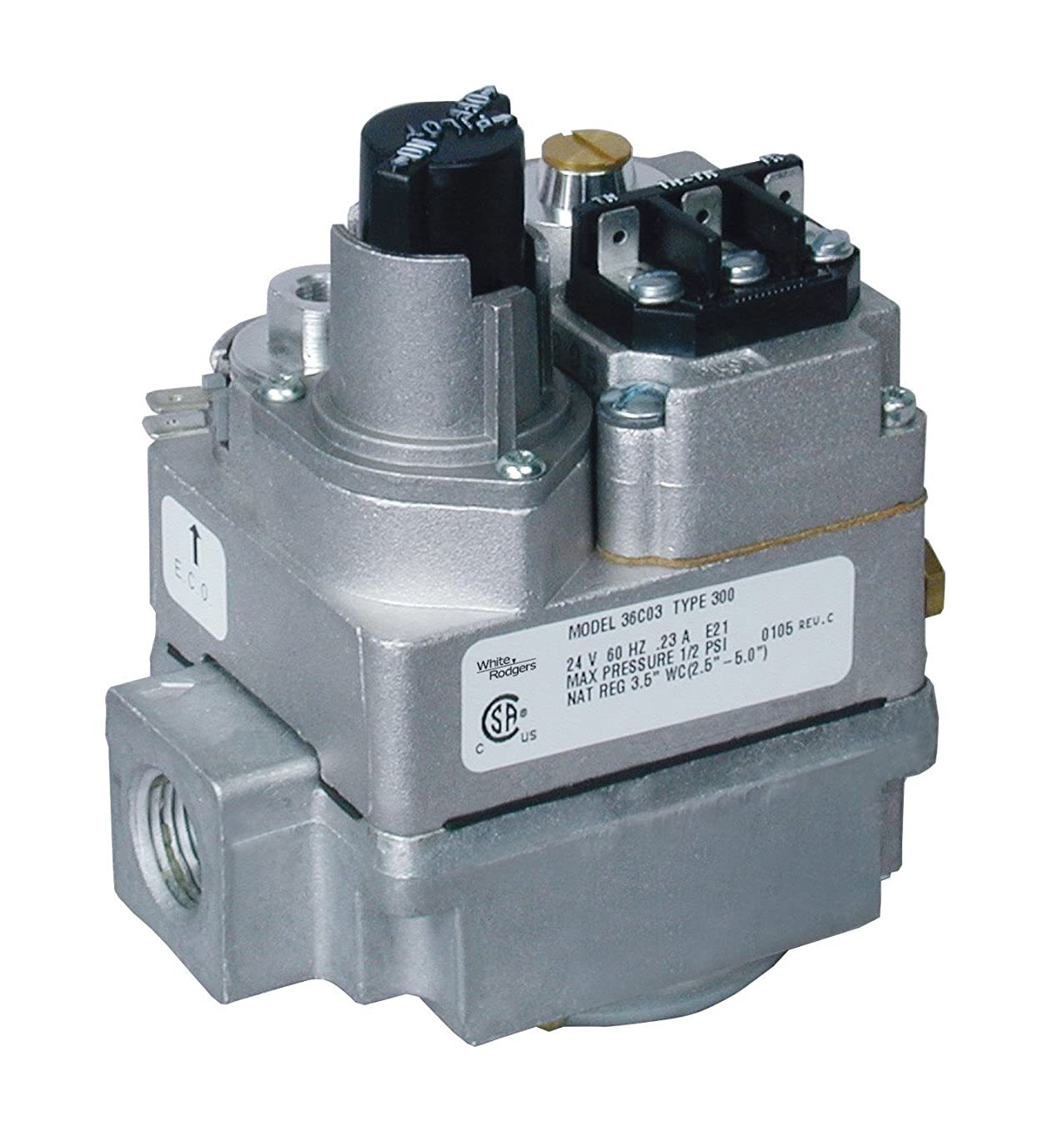White Rodgers 36C03-300 Gas Valve with LP Conversion Kit