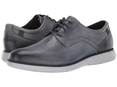 Rockport Garett Plain Toe (Castlerock Grey Gradient) Men