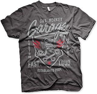 CamisetasPolos esGas Monkey Amazon Camisetas Garage Y vN80mnw