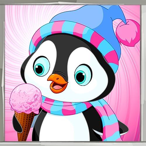 Pinguin-Malbuch