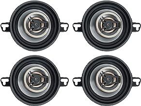 "$44 » (4) Crunch CS35CX 3.5"" Car Audio 2-Way Speakers 150 Watts Max"