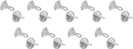 Beistle 66141 Diamond Ring Party Favors 18 Piece, OSFM, White/Silver