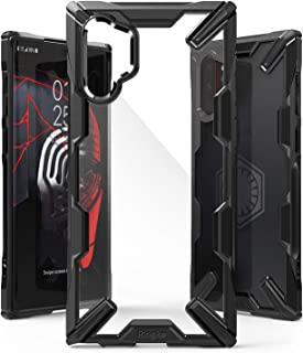 Ringke Fusion X Fitted for Both Galaxy Note 10 Plus Case and Galaxy Note 10 Plus 5G Case (2019), Edge Protection Design Scrape Resistant Cover - Black