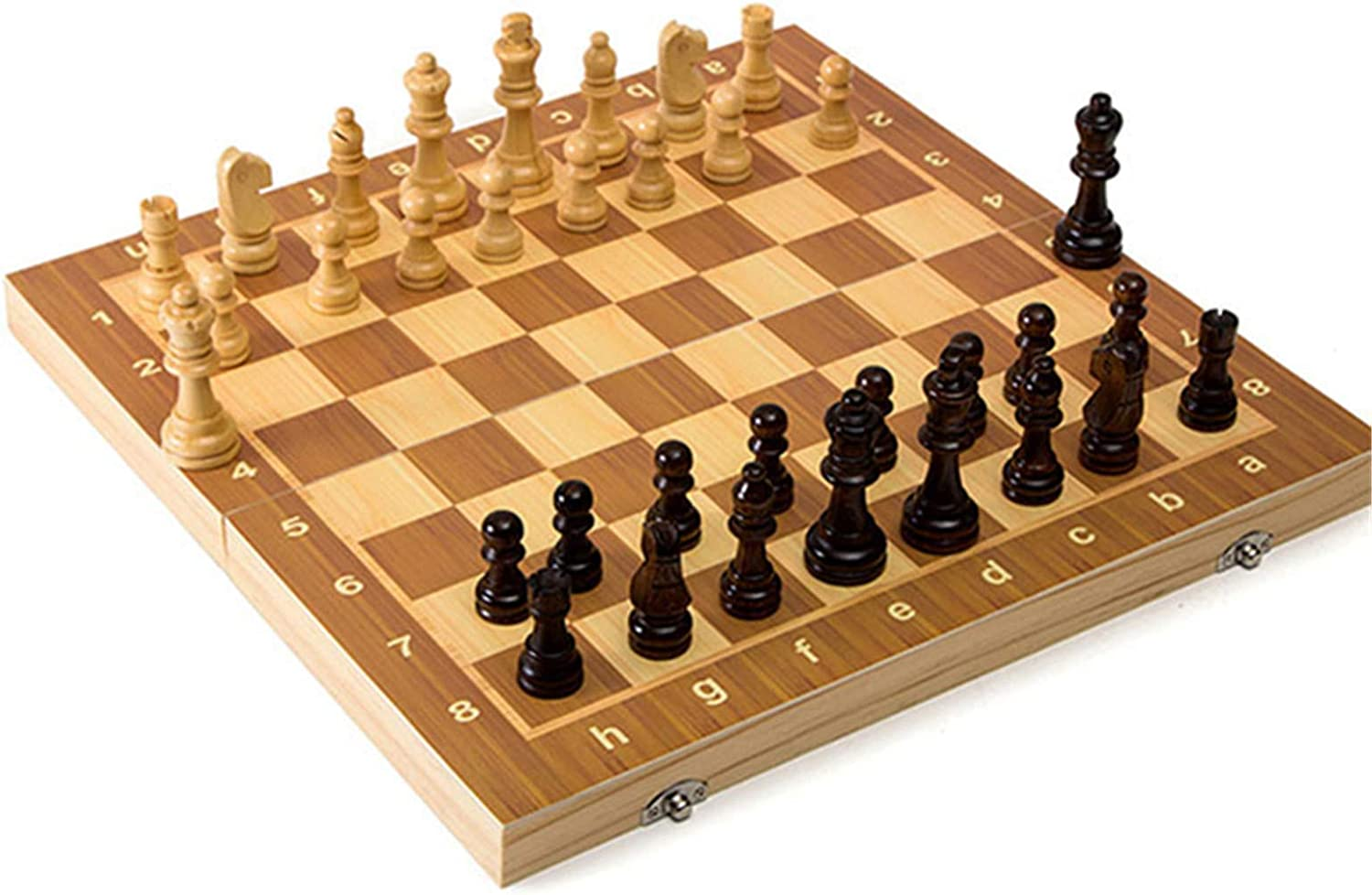 Valink Chess Ranking integrated 1st Many popular brands place Set Portable Wooden Folding Magnetic Sto with