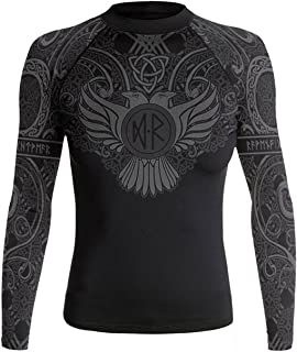 Raven Fightwear Women's Nordic IBJJF Approved Rash Guard Black