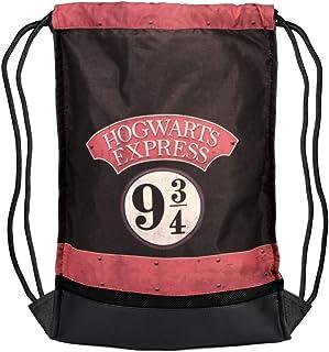 Karactermania Harry Potter Express-Saco De Cuerdas Storm Bolsa de Cuerdas para el Gimnasio, 47 cm, Negro