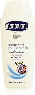 Mantovani - Shampoo Neutro, Capelli Normali , 400 ml