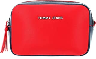 Tommy Jeans Women's Femme Crossover PU Bag, Red - AW0AW08041
