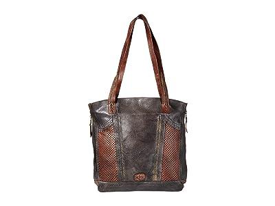 Bed Stu Amelie (Black Teak) Tote Handbags