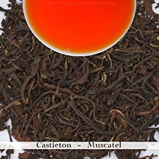 Castleton Tea: Darjeeling Second Flush Black Tea 2019 | 100 gram(3.52ounce) | Premium Loose Leaf Summer Tea, Muscatel, Musk Flavor for Breakfast and Afternoon Tea time | Darjeeling Tea Boutique