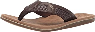 Margaritaville Mens MFM191314 is Island Flip Flop Brown Size:
