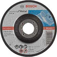 Bosch kesme diski, yükseltici, standart, metal için A 30 S BF, 22,23 mm, 2,5 mm, Gri, 2608603159