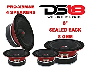 (4) DS18 PRO-X8MSE 2200W 8