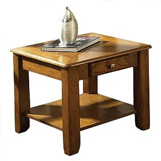 Steve Silver Company Nelson End Table, Oak