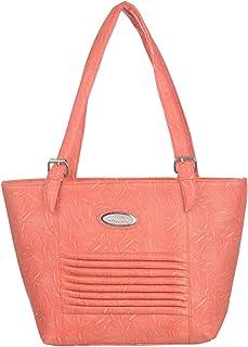Janta PU Leather Women Shoulder Bag (Orange-3307)