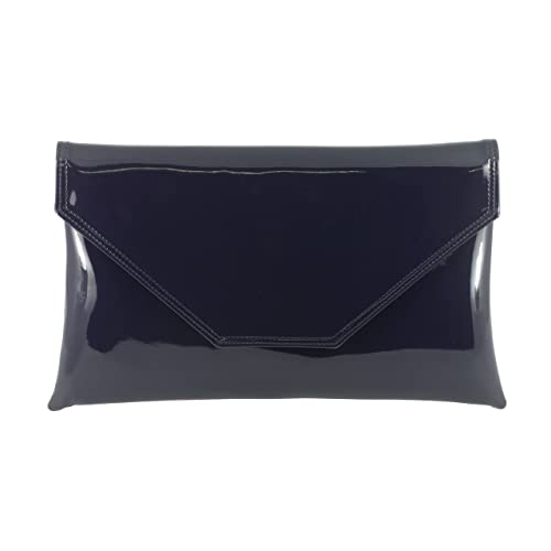 GREY /& NAVY  BLUE faux suede clutch bag handmade in the UK. OVER SIZED BEIGE