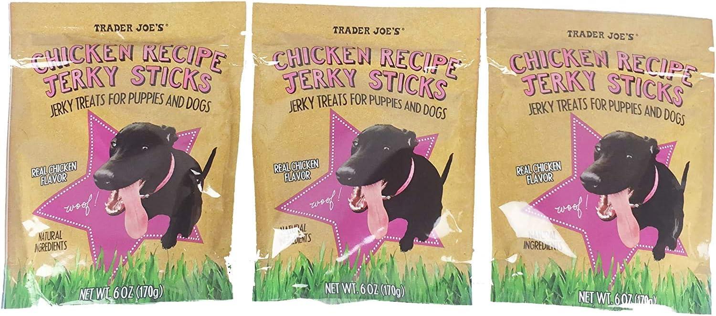 Trader Joe's Chicken Recipe Jerky Sticks 3 of At the price of surprise Under blast sales Pack Oz 6