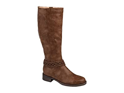 Journee Collection Paisley Boot Wide Calf Women