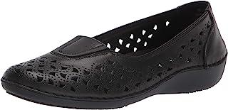 حذاء نسائي مسطح مسطح من Propét لون أسود، عرض 8 US
